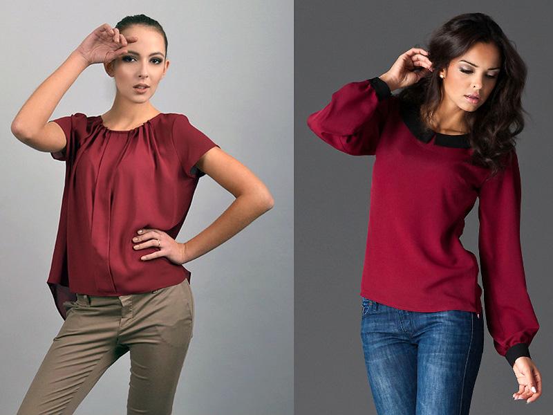 Модные Женские Блузки С Доставкой