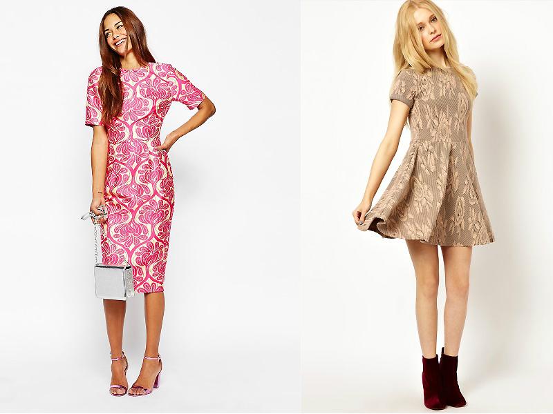 Платье из текстиля купить