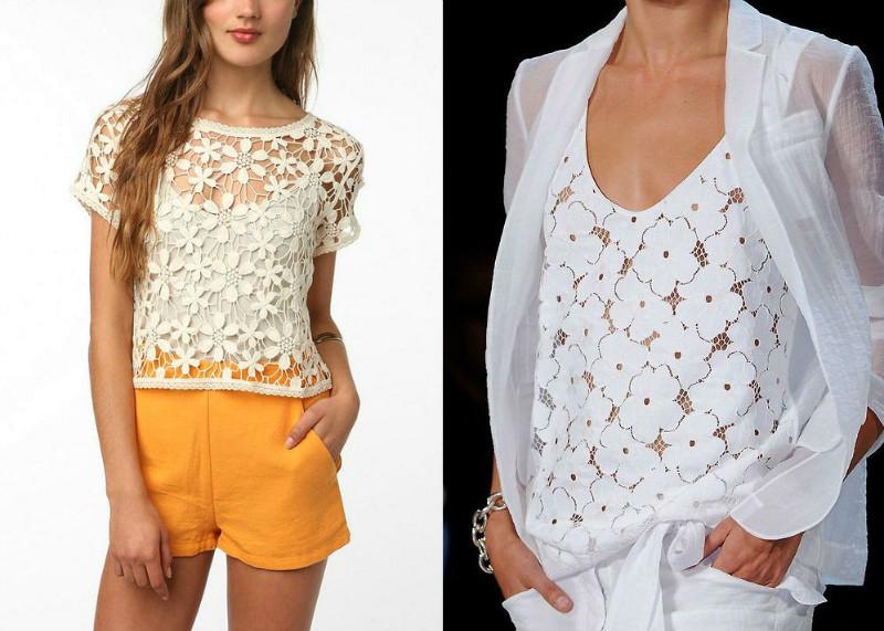 Купить Ажурную Блузку В Интернет Магазине