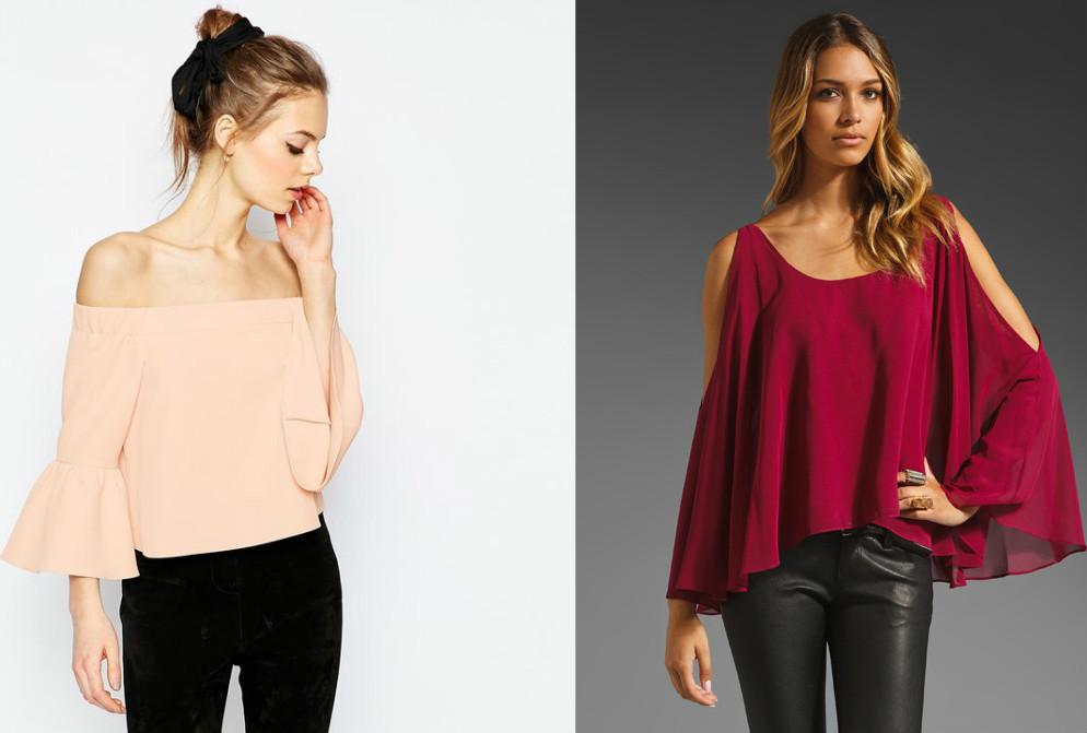 Блузка Без Плеч В Самаре