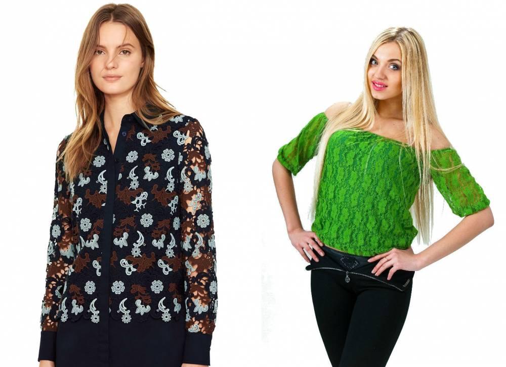 Гипюровые Блузки Больших Размеров Купить В Интернет Магазине