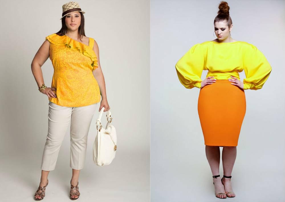 Блузка желтого цвета