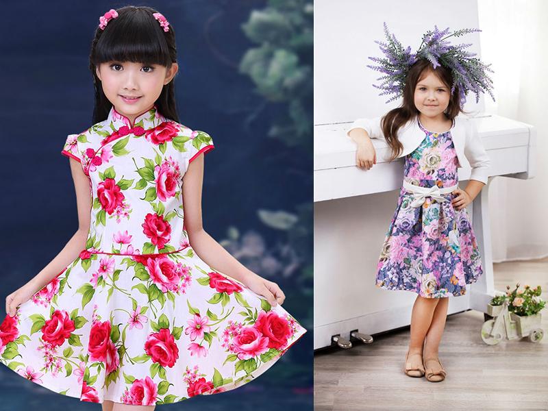 Пошив платья летние для девочки