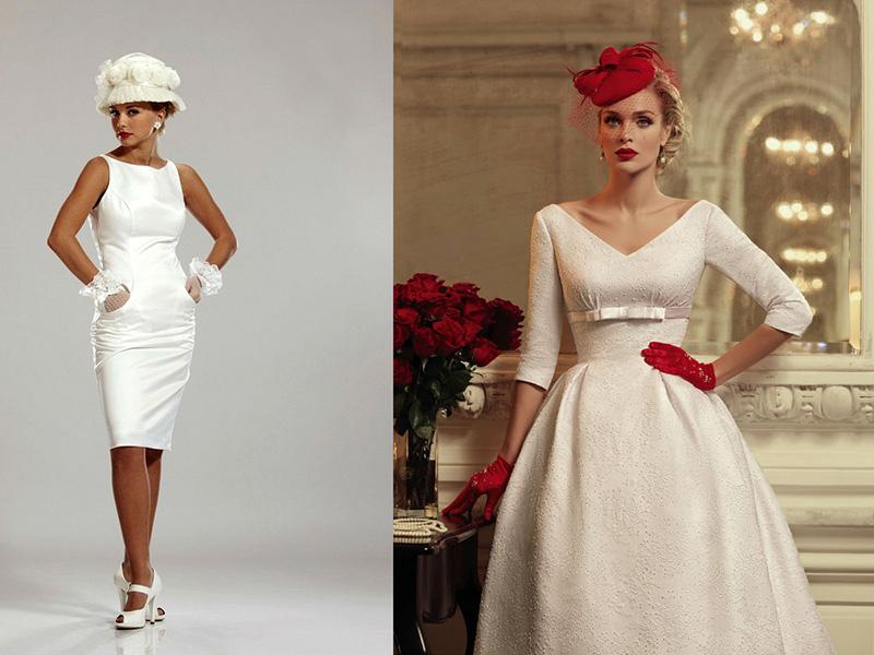 Узкое платье 50 годов