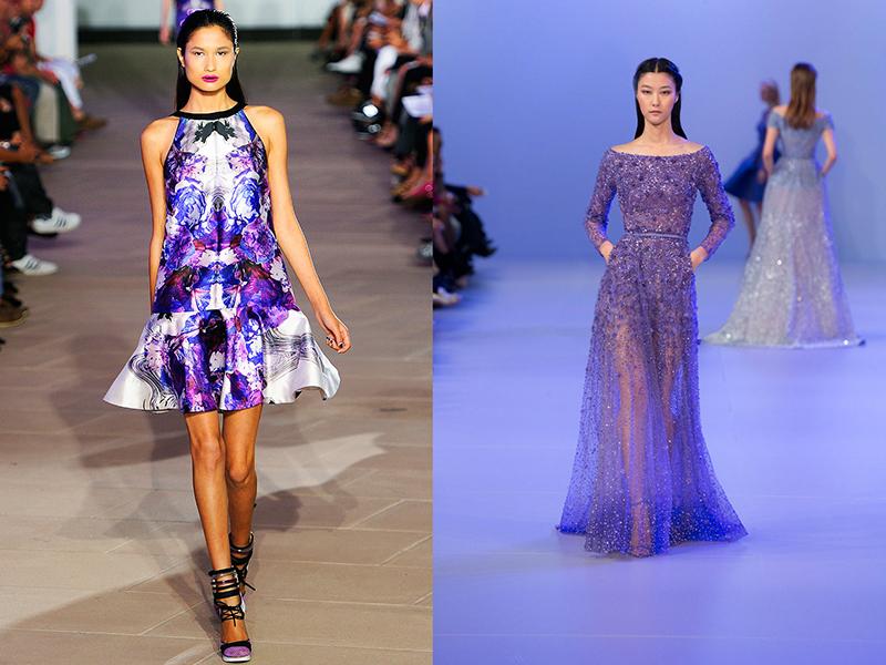 Сиреневое платье: как и с чем сочетать, Мода от