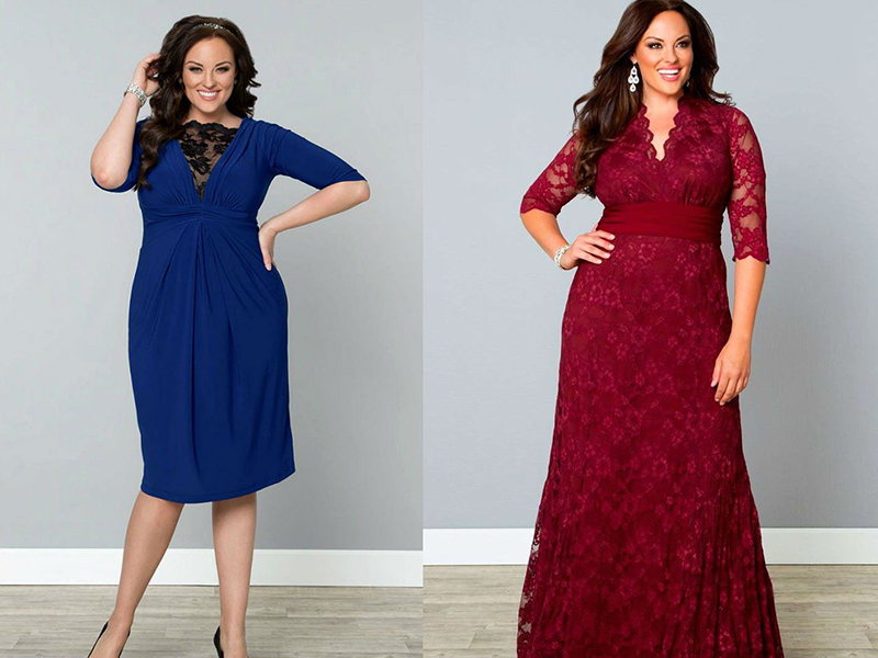 Модели вечерних платьев на 50 размер