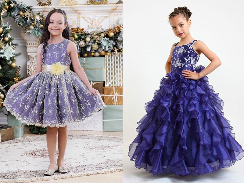 Купить Платье На Девочку Бальное