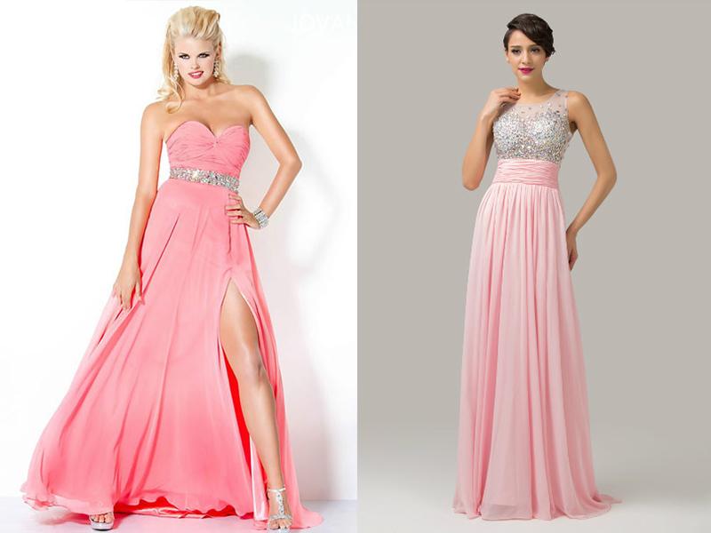 Костюмы из розового платья
