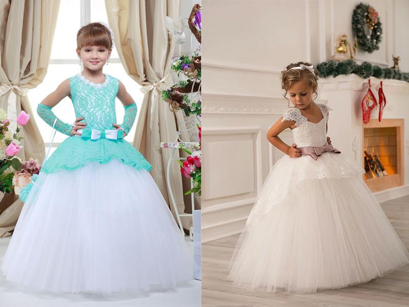 Как сшить бальное платье для девочек 66