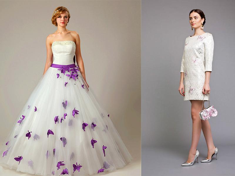 Картинки платьев с бабочками