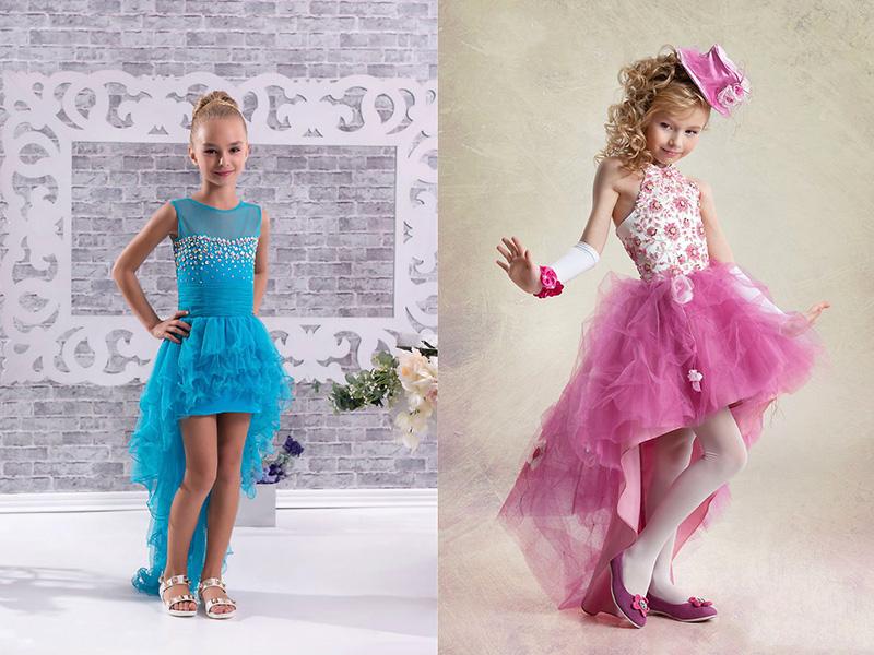 Выкройка шлейфа для детского платья