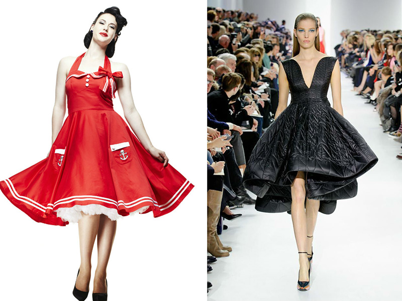 Платья 50-х годов вечерние платья