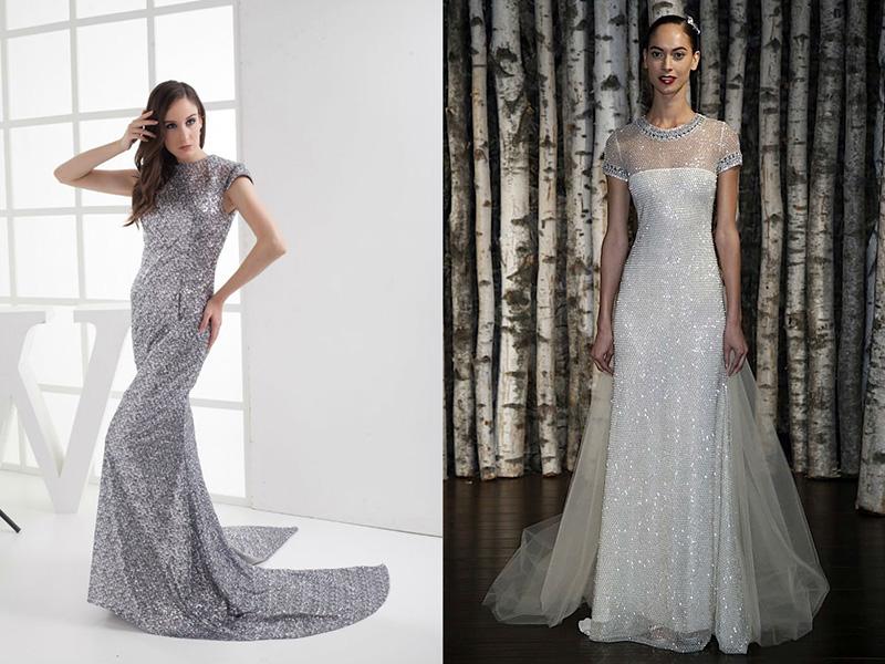 Блестящие платья для ярких и грациозных женщин