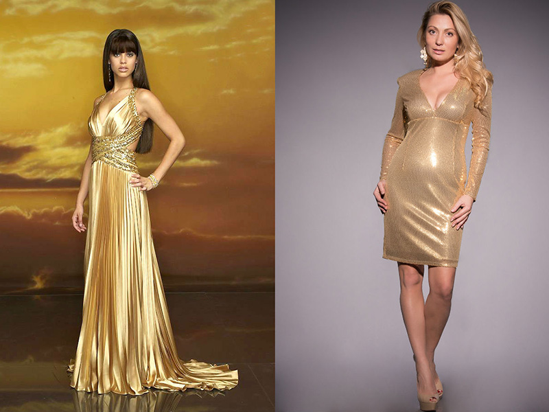 Золотое Платье Доставка