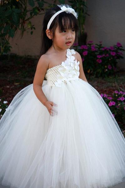 Своими руками пышное детское платье