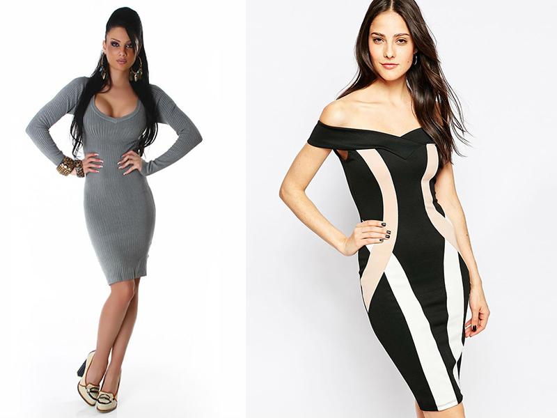 Платье чулок с чем носить фото