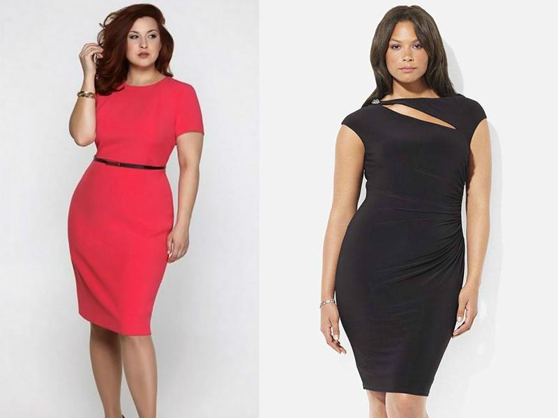 Купить Платье Футляр Для Полных Женщин