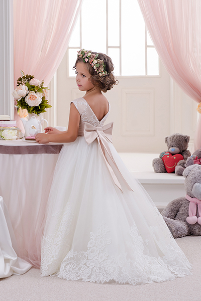 Купить Платье С Перчатками Для Девочки