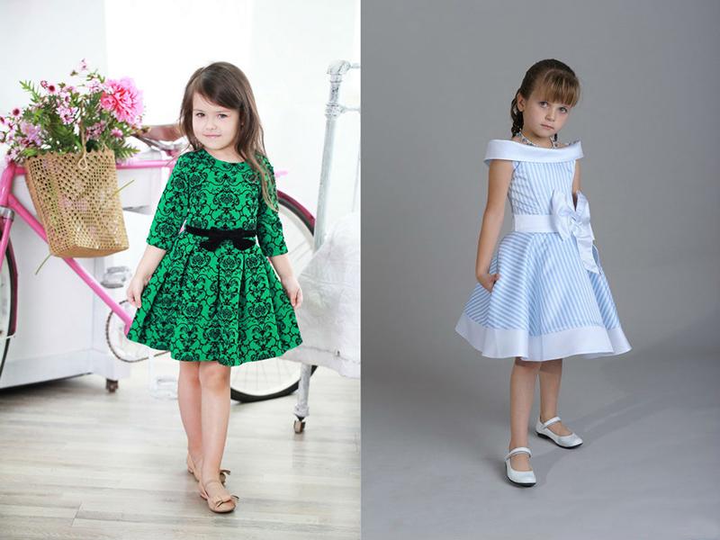 Сшить платье из юбки для девочек 77