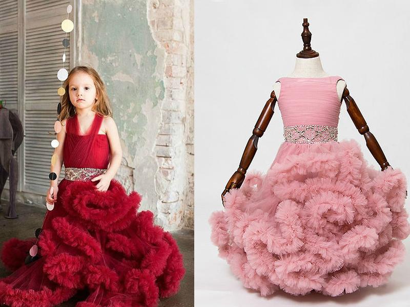 Платье облако своими руками для девочки 11