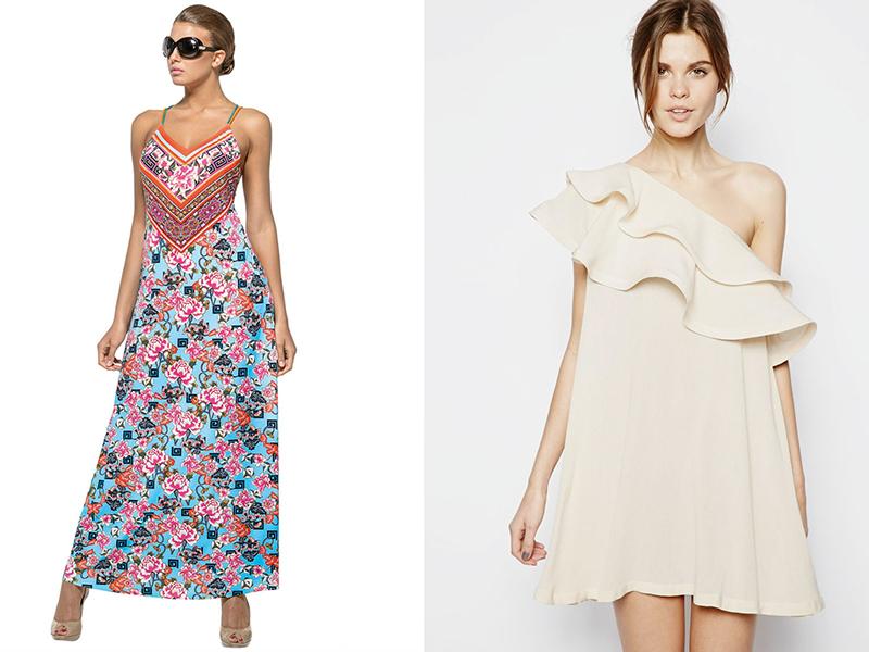 Короткие летние платья простые