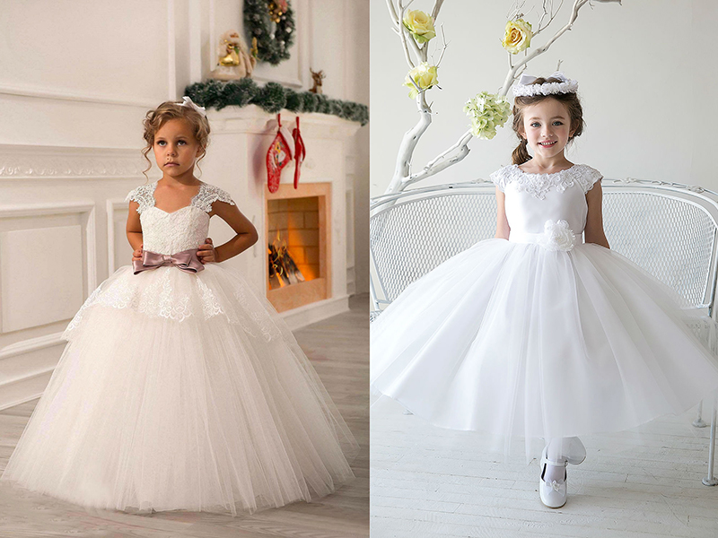 Сшить платье из юбки для девочек 39