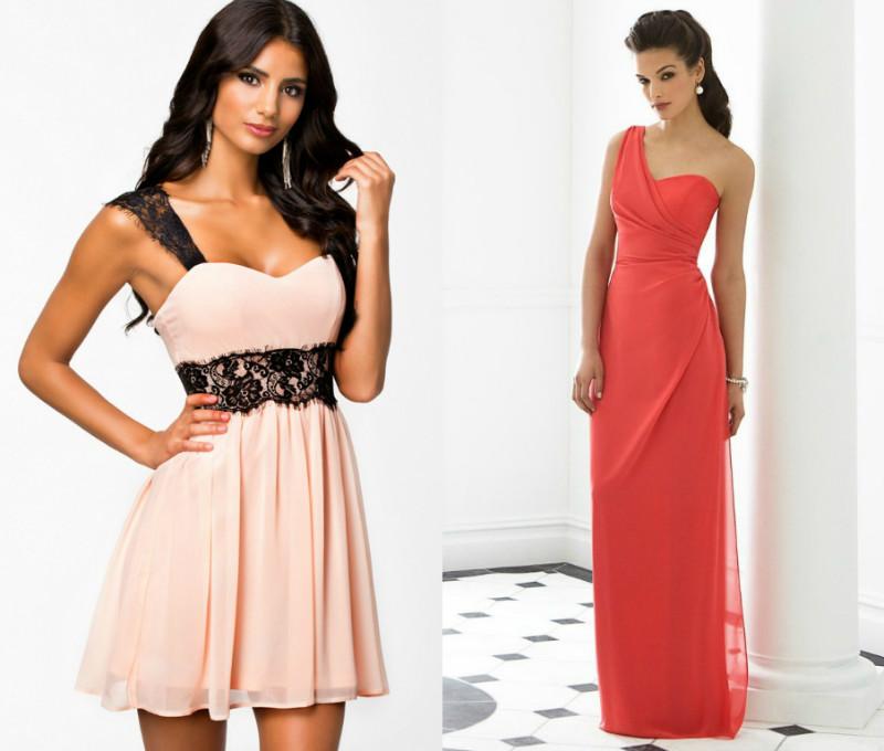 404597fb4817 ... подойдут платья с асимметричным вырезом на одно плечо. Длина такого  платья может быть любой. Стройные ножки можно продемонстрировать, надев  наряд мини.