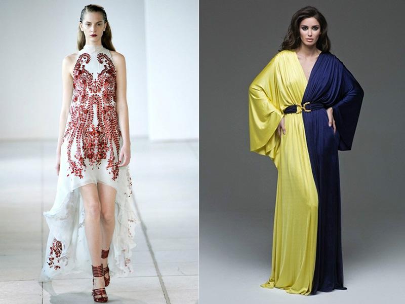Фасоны платьев необычные