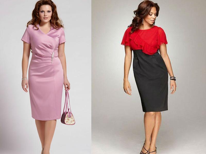 Для работы женщина выбирает варианты платья-футляр, приближенные к классической модели. В качестве коктейльного варианта платья с вырезами или. Если для полных рук нужно выбирать платья с узкими рукавами, то для худых длинные и объёмные. Платье-футляр с акцентированной талией и.