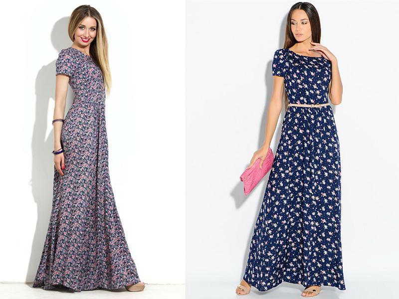 Длинные платья фото для шитья