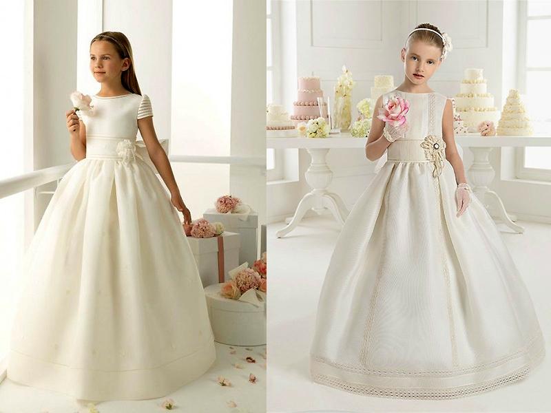Купить Детское Свадебное Платье