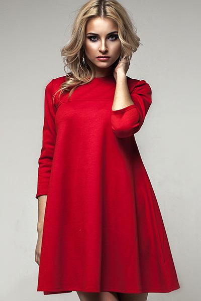 Свободные платья на новый год
