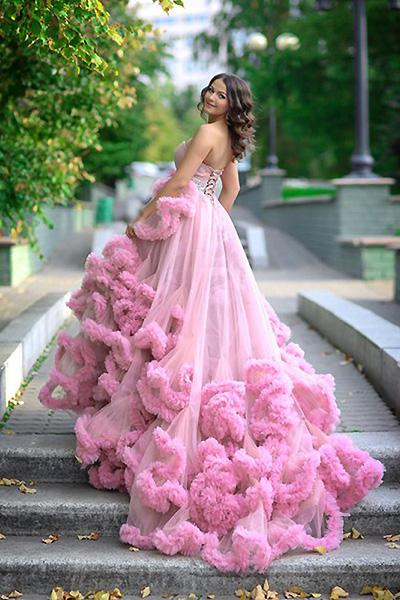 Платье облако своими руками для девочки 34