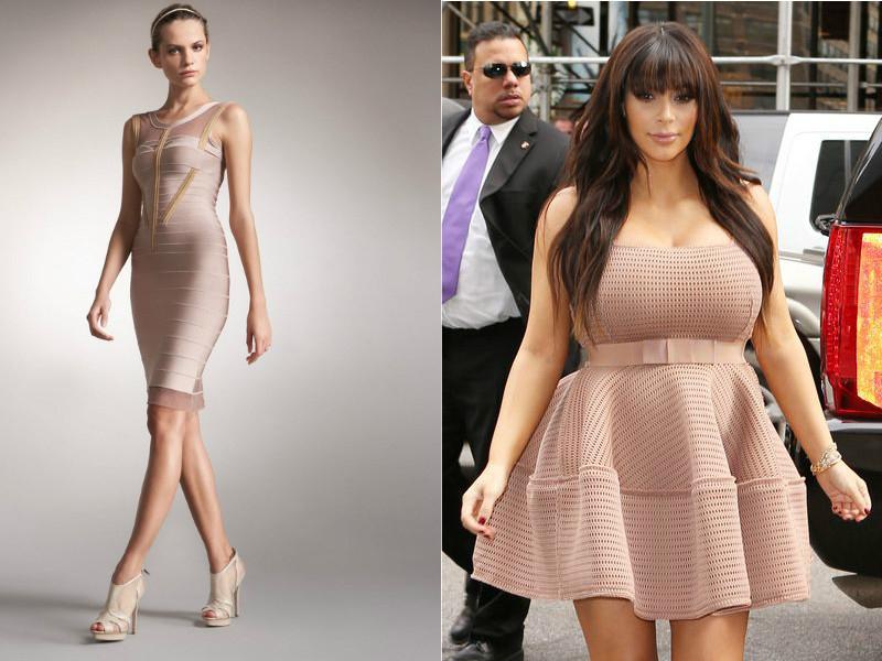 Купить Бандажное Платье