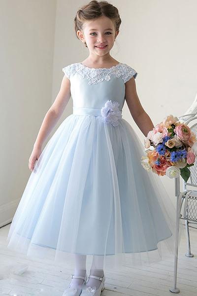 Детское платье с фатином сшить