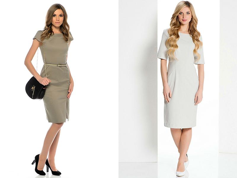 Цвета для деловых платьев