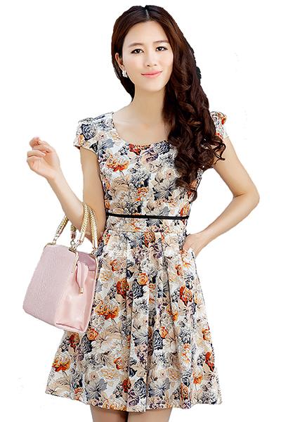 Ситцевые платья для девушек