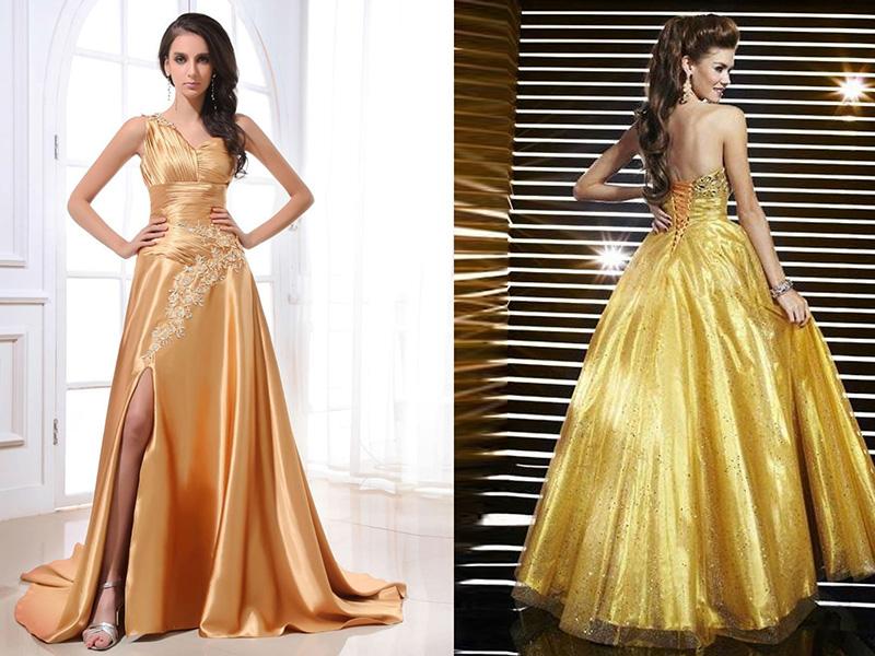 Купить Золотое Платье Интернет Магазин