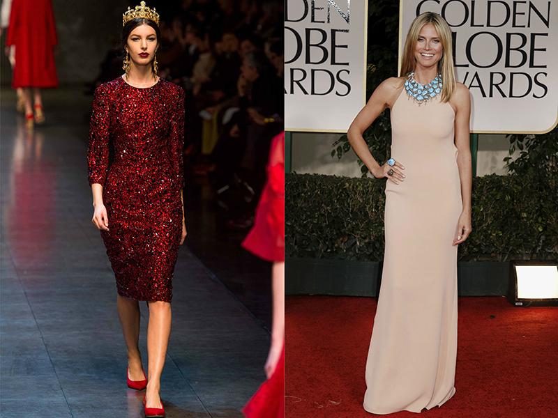 Красное платья какой цвет бижутерии подходит