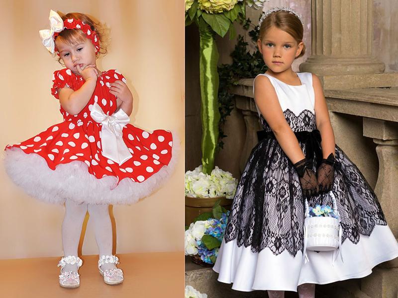 Как украсить платье для девочки своими руками 77