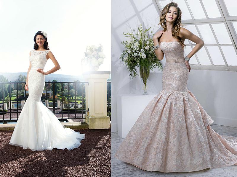 Как подшить свадебное платье по длине