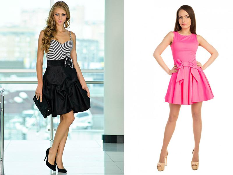 Как научиться краить коктейльные платья молодежные