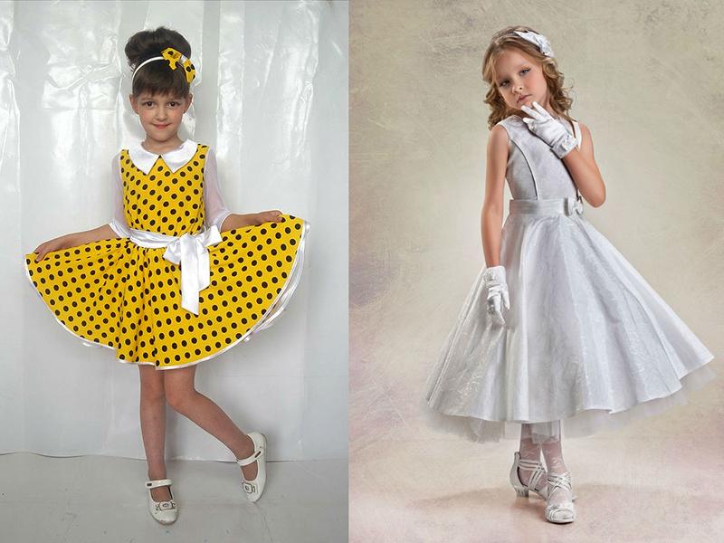 Купить Платье Для Девочек В Стиле Стиляг