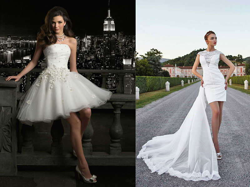 Свадебные Короткие Платья Купить В Москве