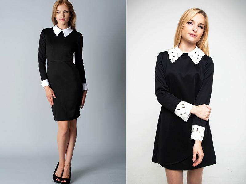 Платья черные классика