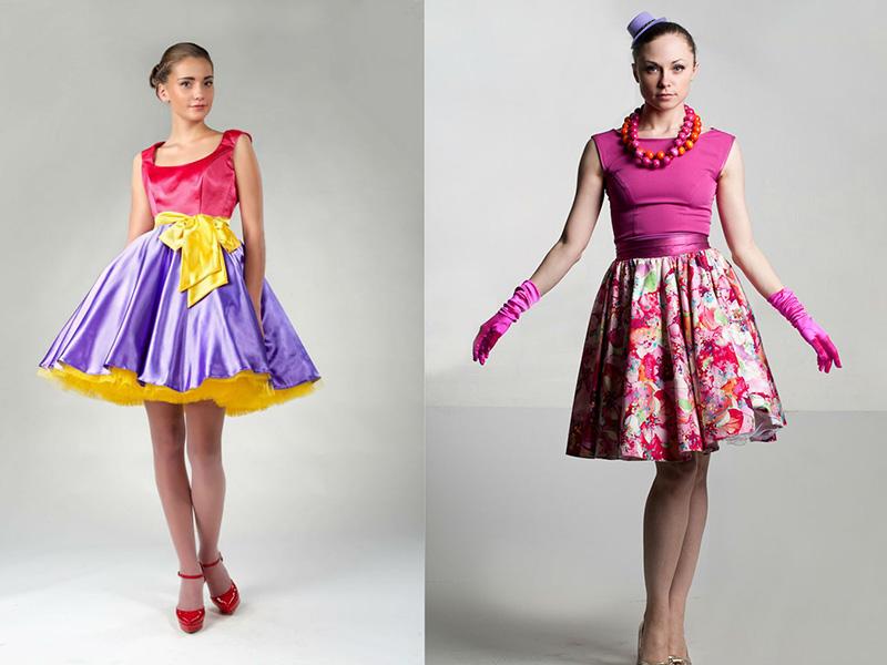 Платья в стиле стеляга