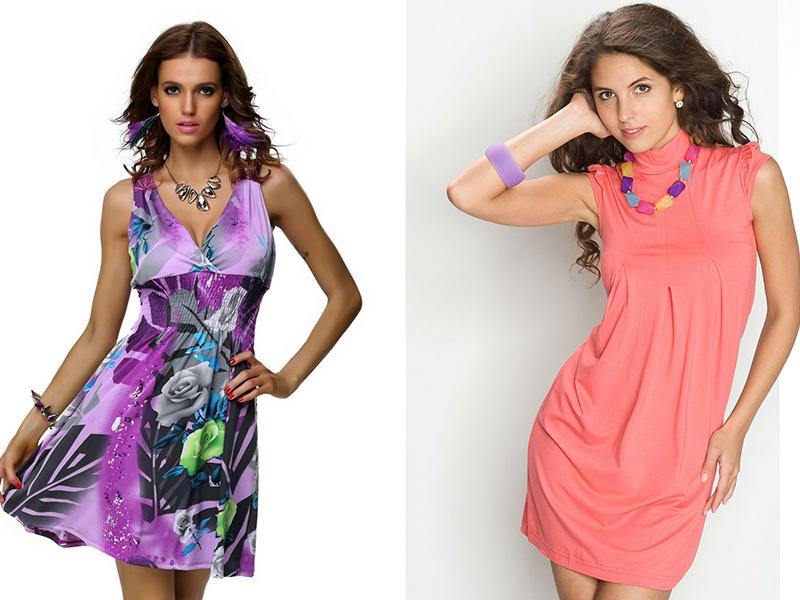 Сочетания платья и украшения
