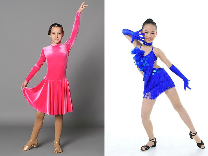 Юбки для бальные танцы для детей