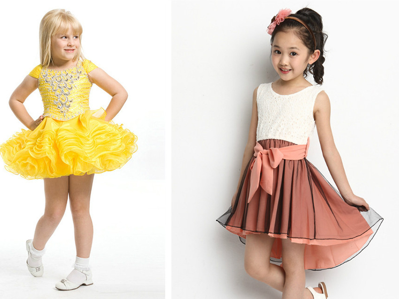Платья для девочек для праздников