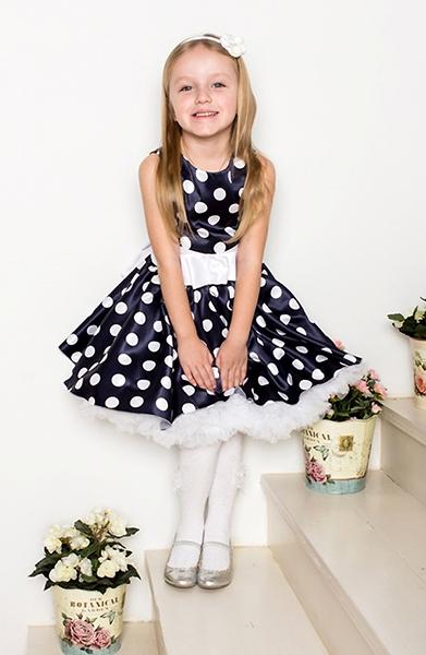 Стиль ретро детские платья